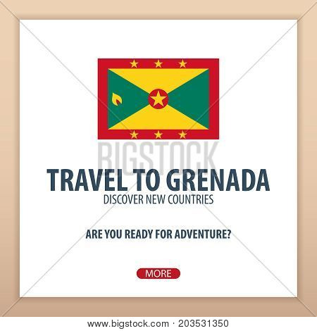 Travel To Grenada. Discover And Explore New Countries. Adventure Trip.