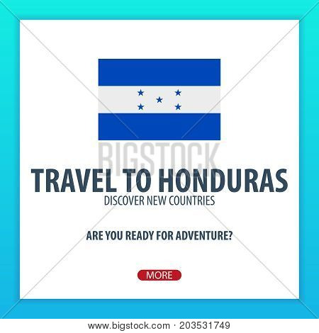 Travel To Honduras. Discover And Explore New Countries. Adventure Trip.