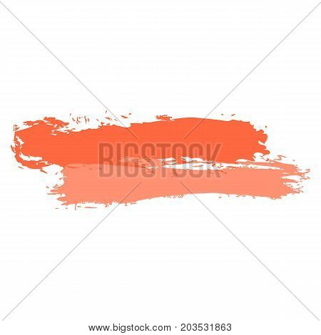 Two Red Tint Brushstroke Paint