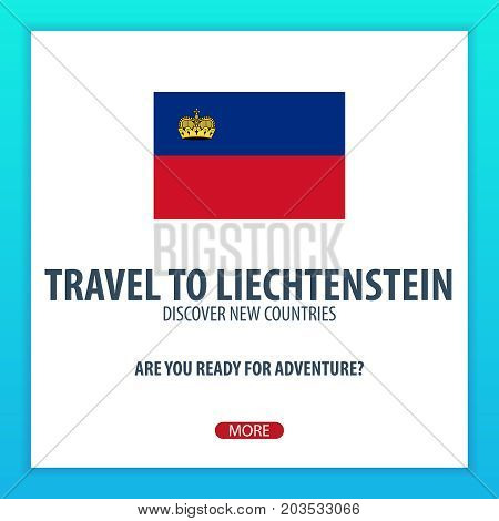 Travel To Liechtenstein. Discover And Explore New Countries. Adventure Trip.
