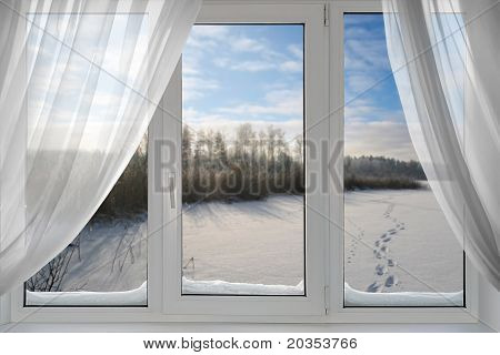 A Beautiful View From The Window