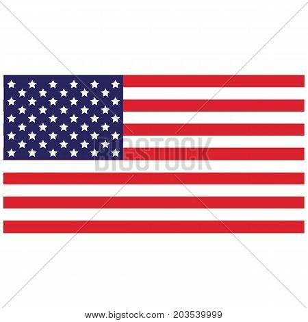 American Flag bold brave celebrate country design
