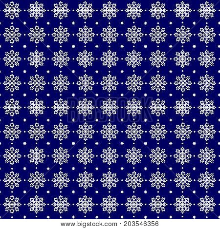 Snowflakes seamless pattern vector icons illustration sketch