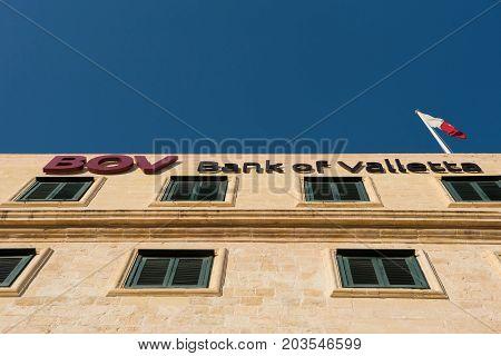 Bank Of Valletta Building, Malta