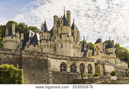 Rumoured to be inspiration for the castle in Sleeping Beauty the Chateau d'Usse in the Loire region of France near Rigny-Usse
