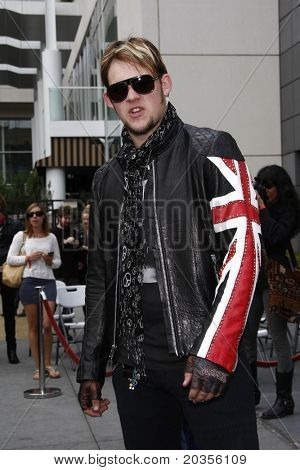 LOS ANGELES - MAY 23:  James Durbin at the Simon Fuller Hollywood Walk Of Fame Star Ceremony at W Hotel - Hollywood on May 23, 2011 in Los Angeles, CA