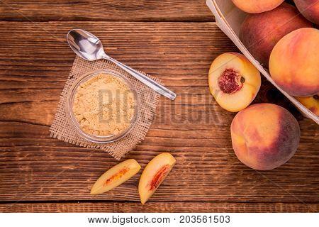 Fresh Made Ground Peaches