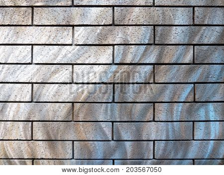 Abstract black brick wall for background. texture for add text