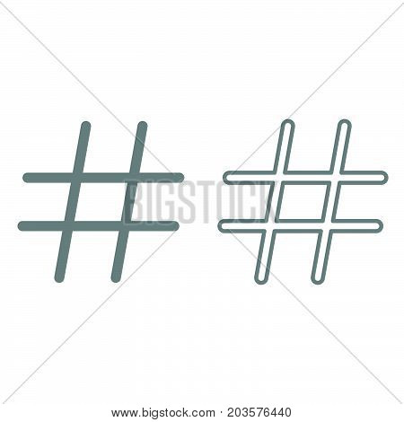 Hashtag It Is Icon .