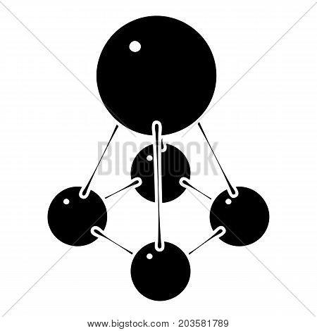 Nitromethane icon. Simple illustration of nitromethane vector icon for web design isolated on white background