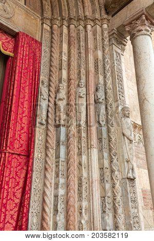 The Duomo di Verona (Cathedral of Santa Maria Matricolare) Verona Veneto Italy