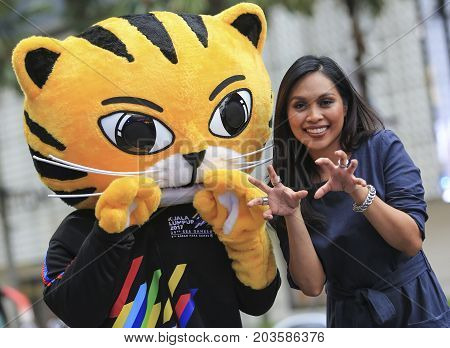 Sea Games Kl 2017 Mascot, Rimau