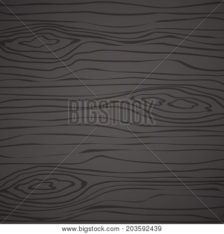 Black wooden cutting chopping board, wall, plank, table or floor surface. Wood texture