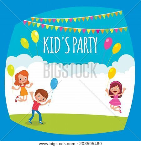 Flyer Or Poster For A Children's Party