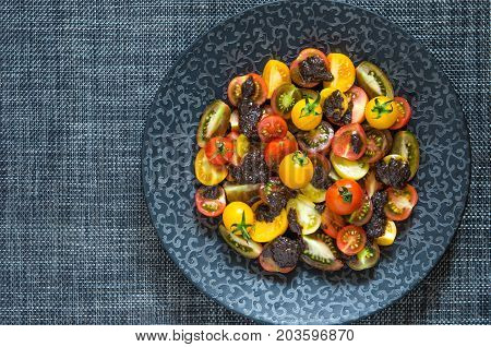 Tomato Salad With Pesto From Jamie Oliver