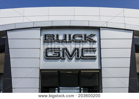 Kokomo - Circa September 2017: GMC and Buick Truck and SUV dealership. GMC and Buick are divisions of GM III