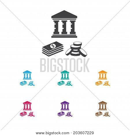 Vector Illustration Of Investment Symbol On Investment Icon