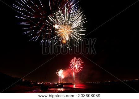 Fireworks Of St Paio Of Torreira