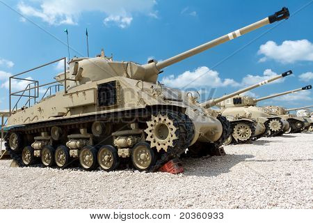 Museum of tanks