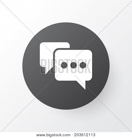 Premium Quality Isolated Note Element In Trendy Style.  Comment Icon Symbol.