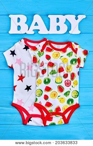 Colorful patterned cotton baby bodysuits. New collection of top quality natural rompers for newborn babies. Shop fashion design baby clothes.