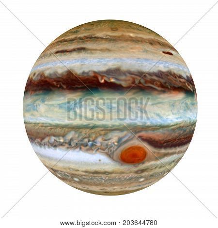 Jupiter - a giant planet in the solar system 3D rendering elements of this image furnished by NASA