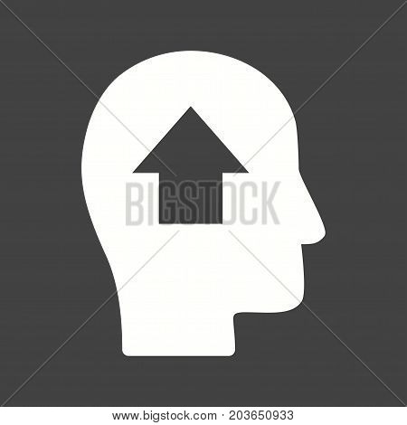 Potential, growth, business icon vector image. Can also be used for soft skills. Suitable for mobile apps, web apps and print media.