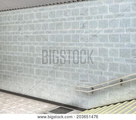 Blank Underground Passage