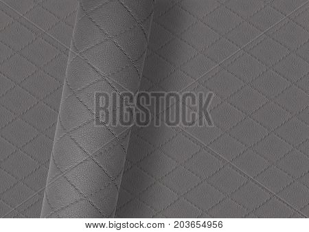 rolled textured grey surface over full frame textured background