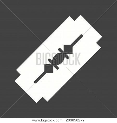 Sewing, blade, tool icon vector image. Can also be used for Sewing. Suitable for mobile apps, web apps and print media.