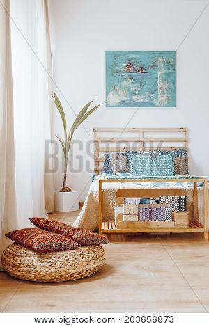 Bedroom In Bohemian Style