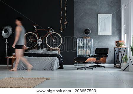 Spacious Multifunctional Bedroom