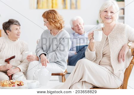 Satisfaction And Happiness Of Seniors