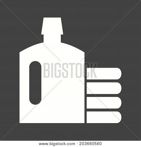 Clothes, dryclean, shirt icon vector image. Can also be used for Cleaning Services. Suitable for use on web apps, mobile apps and print media.