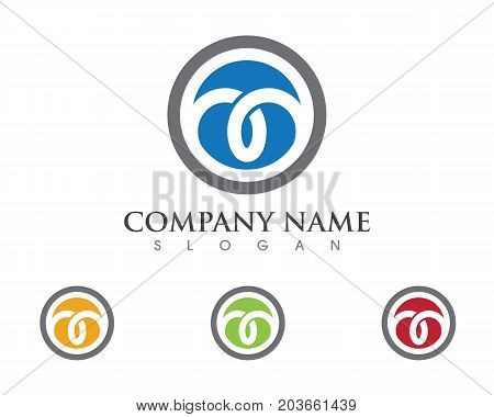 Business corporate abstract unity vector logo design template