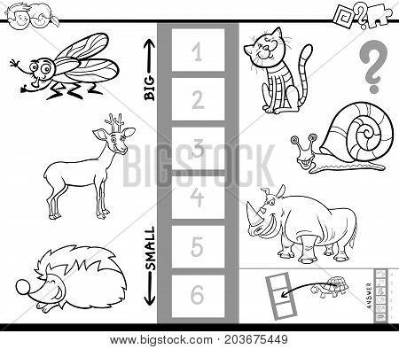 Biggest Animal Game Coloring Book For Kids