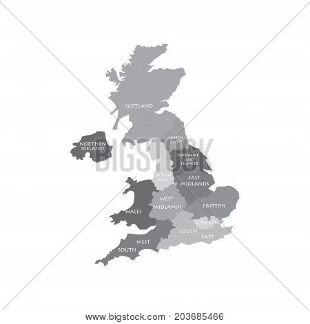 Uk Map Regions