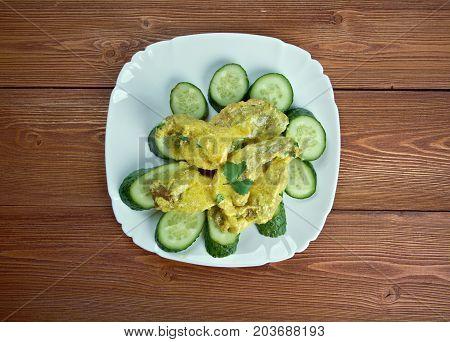 Curry De Porc Aux Concombres