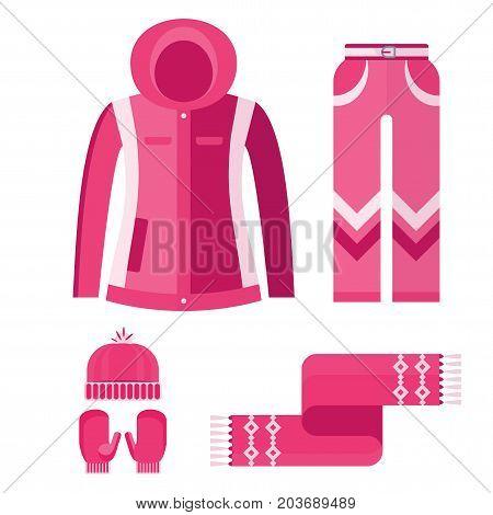 Set Warm Women Clothes