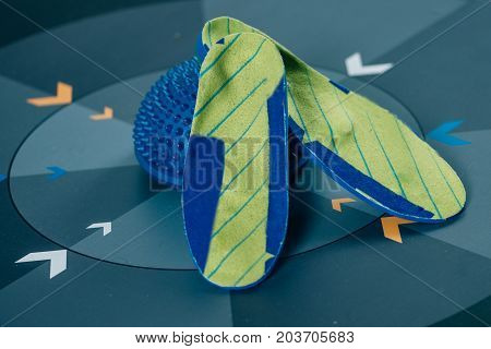 Insoles And Balance Pad, Selective Focus, Toned Image