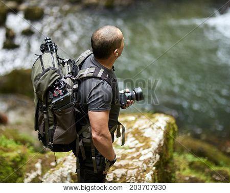 Nature Photographer Outdoor