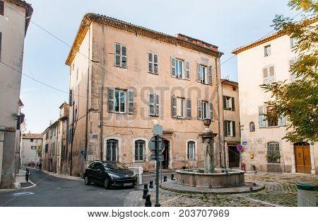 Jean Raynaud Square In  Brignoles
