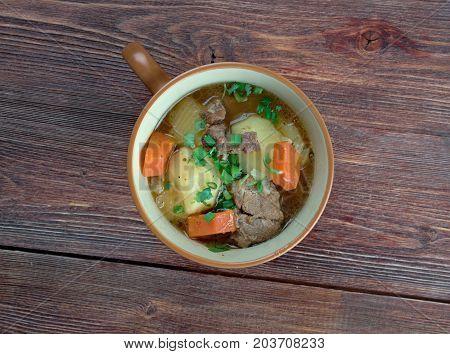 Cawl - Welsh Dish.