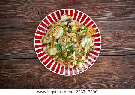 Curried Hash Brown Scramble