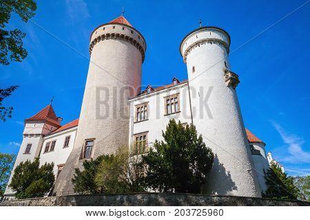 Konopiste, Old Castle In Czech Republic