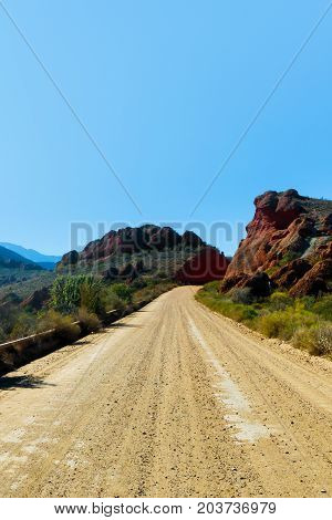 The Long Dusty Road To The Red Mountains
