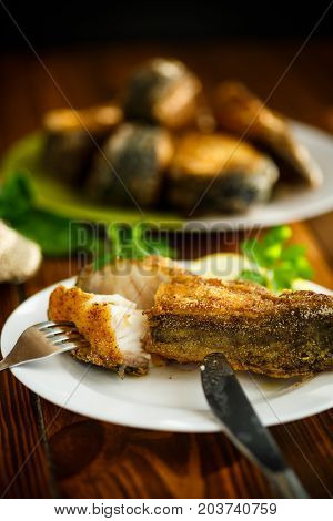 Catfish Roasted In Batter
