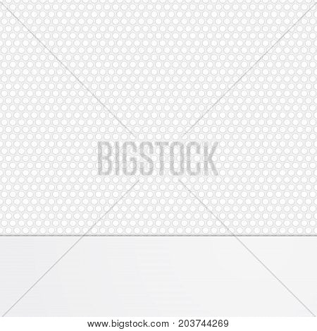 Abstract grunge perforated background vector illustration clip-art