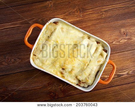 Cannelloni With Beef