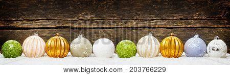 Christmas backgrounds Christmas decoration balls Christmas card banner